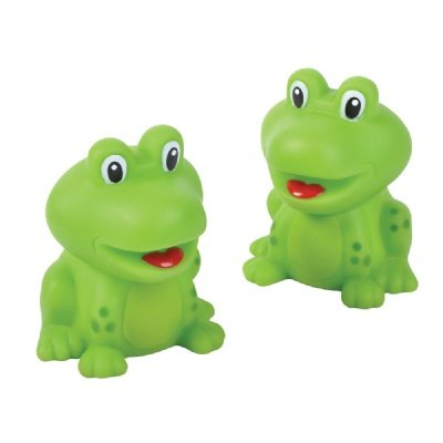 2-Inch Rubber Frogs (Bulk Pack Of 12 Frogs) front-459438