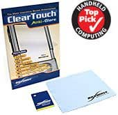 BoxWave HP iPAQ 5550 ClearTouch Anti-Glare Screen Protector - Premium Quality Anti-Glare, Anti-Fingerprint Matte Film Skin to Shield Against Scratches (Includes Lint Free Cleaning Cloth and Applicator Card) - HP iPAQ 5550 Screen Guards