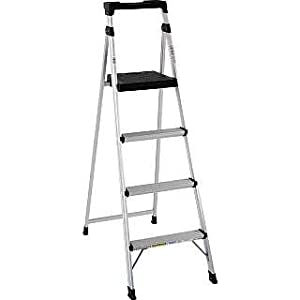Cosco Lite Solutions Folding Step Ladder - 6' - (4 STEPS)