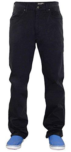 Mens Wrangler W12OHW80K Jeans Black 38W x 34L