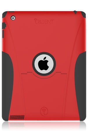 Trident Case Aegis Series for iPad 2 - Red