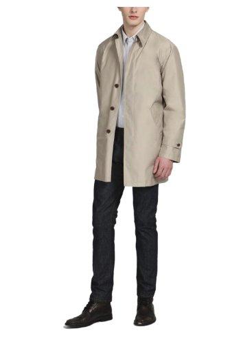 DKNYDKNY Mens Raincoat 42 Long 42L Tan Waterproof Jacket Thermolite Plus Jayson
