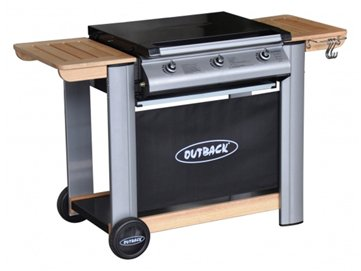 Spectrum Select 3 Burner Flatbed Gas Barbecue inc Cover + Reg by Outback