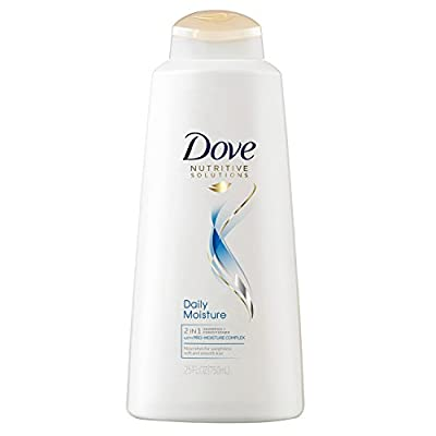 Dove Nutritive Solutions 2in1, Daily Moisture 25.4 oz, (Pack of 4)