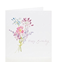 Floral Bouquet Birthday Card