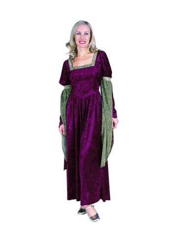 Spirit Renaissance Queen Brown Womens Plus Size Costume
