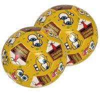 Spongebob Squarepants Soccer ball - 4in Spongebob soft vinyl ball (2pcs)