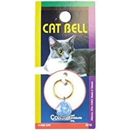 Coastal Pet Products CCP45100RPRO Designer Round Cat Bell, 12mm, Pink Rose