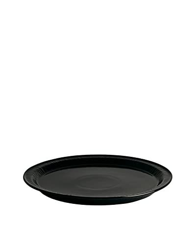 "Seletti Limited Black Edition 11"" Porcelain Dinner Plate, Black"