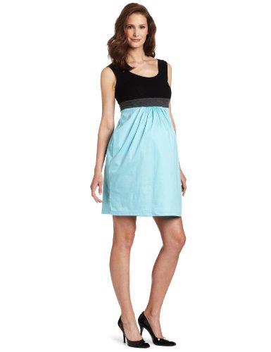 Olian Women's Maternity Jean Tank Dress