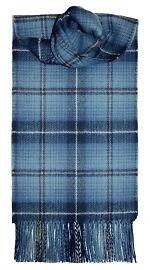 Lochcarron of Scotland - Sciarpa 100% vera lana d'agnello, motivo Tartan Ryder Cup 2014, fabbricato in Scozia