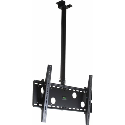 """Videosecu Lcd Plasma Flat Panel Tv Ceiling Mount Bracket For Most 37"""" To 65"""" Tv Led Television Displays Mpc51B M10"""