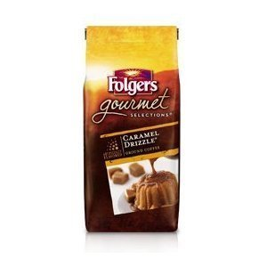 folgers-gourmet-selections-caramel-drizzle-ground-coffee-10-oz-pack-of-3-by-n-a