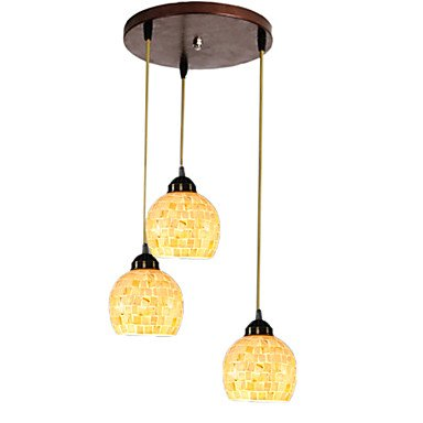 60W E27 Nature Inspired Pendent Lights