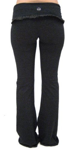 7953564e219cd Hard Tail Yoga Pants Online Stores: Ruffle Roll Down Yoga Pant by So Low