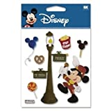 12 Pack DISNEY 3D STIX PARADE MICKEY Papercraft, Scrapbooking (Source Book)