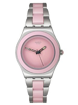 Swatch Women's Ceramic Watch YLS167G