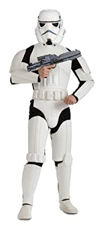 Adult Deluxe Plus Size Stormtrooper Costume 2X
