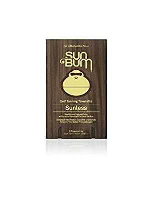 Best Cheap Deal for Sun Bum Self Tanning Towelettes, 5 pack by Sun Bum, LLC. - Free 2 Day Shipping Available