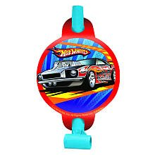 Amscan Hot Wheels Speed City Party Blowouts, 8-Count