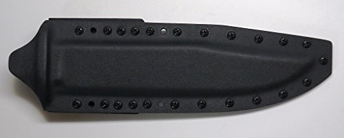 "Custom Black .08"" Kydex Sheath For Cold Steel Knives Trailmaster Bowie Knife"