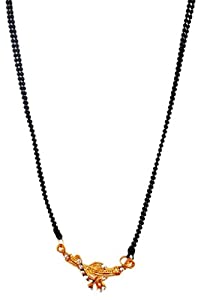 SUVIS Stone Sleek Mangalsutra available at Amazon for Rs.99