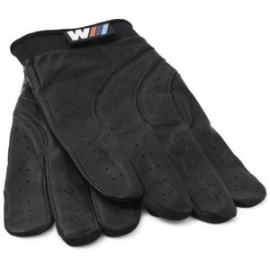 Bmw M Logo Black Leather Driving Glove Size L by BMW