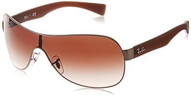 Amazon.com: Ray-Ban RB3471 Shield Sunglasses 132 mm, Non
