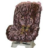 Baby Bella Maya Pink Champagne Toddler Car Seat Cover - 1