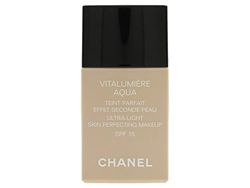 Chanel Vitalumiere Aqua, 20 Beige Rose Tendre, Donna, 30 ml