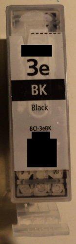 1x BCI 3eBK black schwarz Refill für Canon Drucker BJC-3000 3010 6000 6100 6200 6200s 6500 BJ-F300 F600v MPC 400 600F 700 photo 730 photo Multipass F30 F50 F60 F80 C100 C755 S400 S450 S4500 S500 S520 S530 S530D S600 S630 S6300 S700 S750 S800 S820 S830D S900 S9000 T-Fax 7960 i550 i560 i6500 i850 i865 i900d i905 i9100 i950 i965 i990 i9950 iP 3000 4000 5000 6000D 8500 MP 700 730 750 760 780 BCI-5c BJC-8200