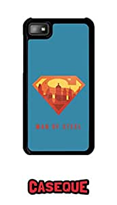 Caseque Man Of Steel Superman Lego Back Shell Case Cover For BlackBerry Z10