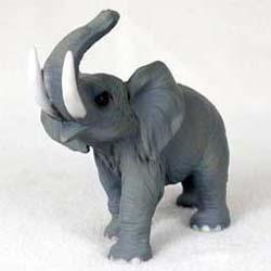 Resin Animal Figurine - Elephant