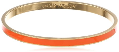 "Kate Spade New York ""Idiom Bangle Bracelets"" Under The Sun Solid Bangle Bracelet, 7″"