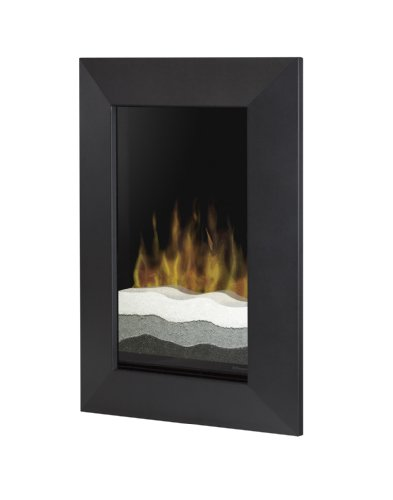 Dimplex V1525BT-BLK Beveled-Trim Wall-Mounted Electric Fireplace, Black image B001VZWBLY.jpg