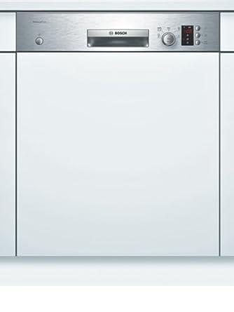 Bosch SMI50E85EU Semi intégré 13places A+ Acier inoxydable, Blanc lave-vaisselle - laves-vaisselles (Semi intégré, A, A+, Acier inoxydable, Blanc, A, 220 - 240 V)