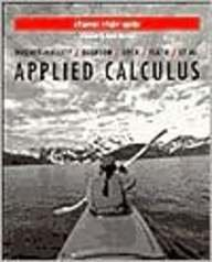 Applied Calculus for Business, Social Sciences and Life Sciences: Student Study Guide