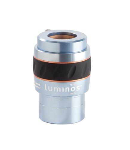 Celestron 93436 Luminous 2-Inch 2.5x Barlow Lens (Silver)