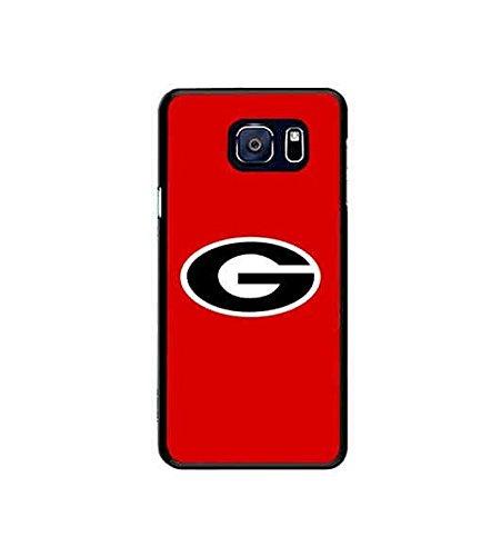 Sports Theme Samsung Galaxy S6 Edge Plus Case NCAA Logo Georgia Bulldogs Team Logo Print Specialised Vintage Design For Men