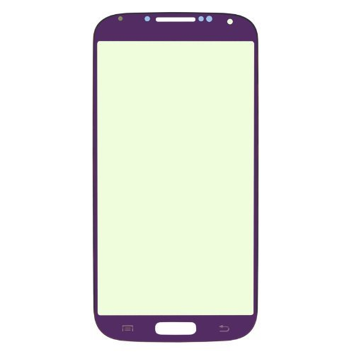 Replacement Glass For Samsung Galaxy S4 I9500 - Free Tools Plating Purple