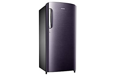 Samsung RR19J2784UT Direct-cool Single-door Refrigerator (192 Ltrs, 4 Star Rating, Pebble Blue)