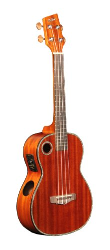Riptide Eut-5Ng Acoustic/Electric Tenor Ukulele With Solid Mahogany Top