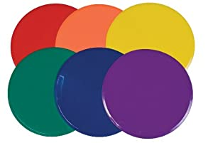 Buy Champion Sports 12-Inch Extra Large Poly Spot Marker Set by Champion Sports