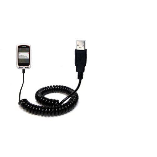 Garmin Approach G7 Compatible Unique Gomadic Coiled Usb Charge And Data Sync Cable - Charging And Hotsync Functions With One Cable. Built With Tipexchange