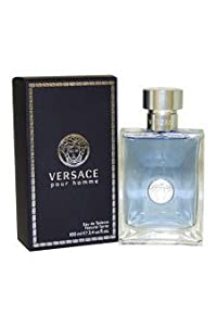 Versace Pour Homme by Gianni Versace 3.3 / 3.4 oz 100 ml edt Cologne Spray For Men * Original Retail Packaging