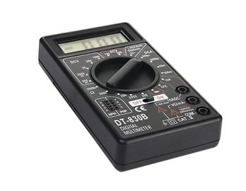 Led Diy Test Measurement Digital Multimeter (Black)
