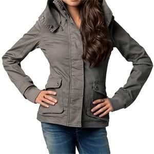Fox Racing Women's Tunnel Jacket - Large/Titanium