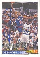 Gerald Wilkins New York Knicks 1992 Upper Deck Autographed Hand Signed Trading Card -... by Hall of Fame Memorabilia