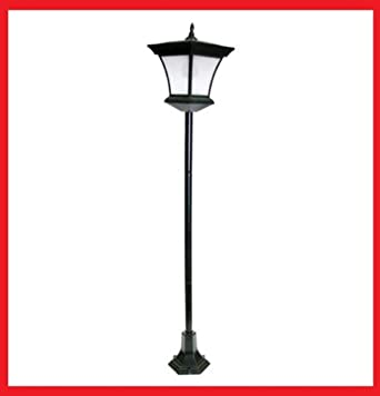 130cm solar powered garden lamp post outdoor garden lamp post lights. Black Bedroom Furniture Sets. Home Design Ideas
