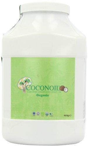 Coconoil Organic Virgin Coconut Oil 4.6 kg